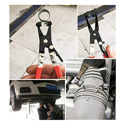 Product Image 6: Hose Clamp Pliers Auto Repair Tool Swivel Flat Band for Removal and Installation of Ring-Type or Flat-Band Hose Clamps