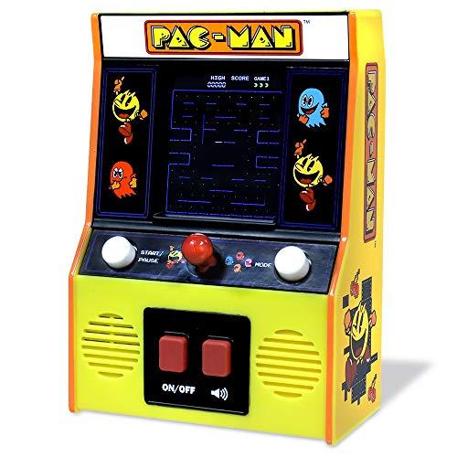 Basic Fun 09530 Classics Pac-Man Color LCD Retro Mini Arcade Spiel
