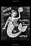 Waterpolo Players Are Mermaids In Battle: Blank Paper Sketch Book - Artist Sketch Pad Journal for Sketching, Doodling, Drawing, Painting or Writing