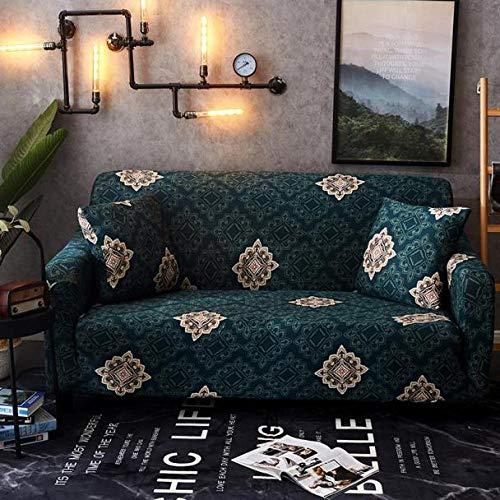 Allenger Funda Sofa Elastica Protector Adaptable,Funda de sofá elástica, Toalla de sofá de Funda Completa, Funda de cojín para Sala de Estar, Funda de protección para Muebles-Color 33_145-185cm