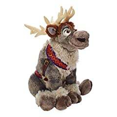 Genuine, Original, Authentic Disney Store Detailed plush sculpting and embroidered features Faux fur tufts; Padded antlers Fabric harness with screen art detailing Inspired byFrozen 2