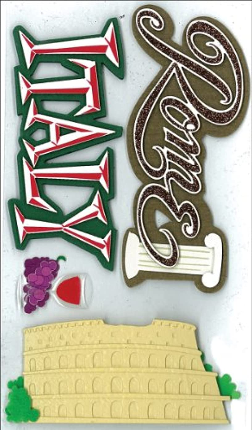 Jolee's Boutique Dimensional Stickers, Italy Lg