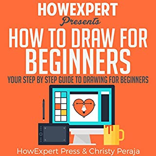 How to Draw for Beginners audiobook cover art