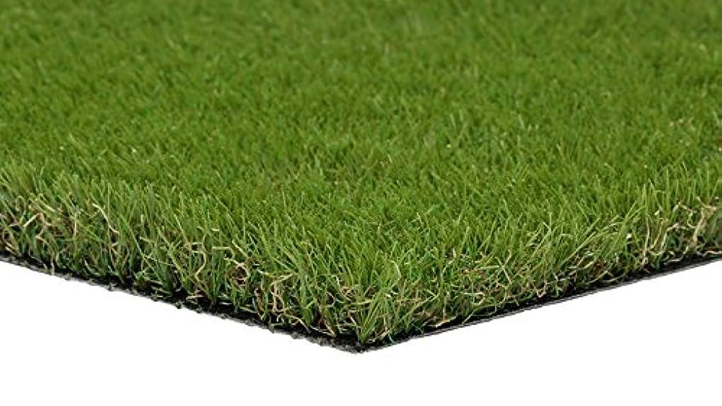 カーフ敵繊維くらしメーカー FIFA認定工場製造最高級人工芝 1X5m 丈高3㎝ (高麗芝型芝?抗菌防カビ仕様)ロール状