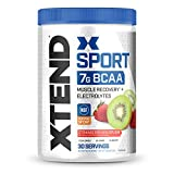 XTEND Sport BCAA Powder Strawberry Kiwi Splash - Electrolyte Powder for Recovery & Hydration with Amino Acids - 30 Servings