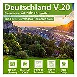 Deutschland V.20 - Profi Outdoor Topo Karte passend für Garmin GPS 60, GPSMap 60Cx, GPSMap 60CSx, GPSMap 62s, GPSMap 62sc, GPSMap 62st, GPSMap 62stc, GPSMap 64, GPSMap 64s, GPSMap 64st