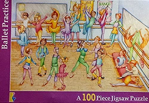 'Ballet Practice 100 Piece Jigsaw Puzzle Educa Sallent by Educa