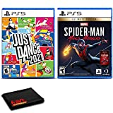 Just Dance 2021 and Spider-Man: Miles Morales for PlayStation 5 - Two Game Bundle