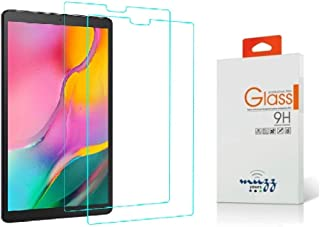 Muzz ® Tempered Glass Screen Protector Film for Samsung Galaxy Tab A 10.1 2019 T510 T515 SM-T510 Tablet (2 Pack)