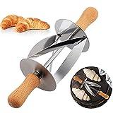 Rollo De Croissant Taza De Acero Pate Panadería Rodillo Croissant Pan, Que Cocina, Utensilios De Cocina, 1Pc,Metálico
