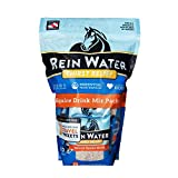 REDMOND Equine, Rein Water, Natural Hydrating Electrolyte Mineral Mix for Horses (20 Count Sampler)