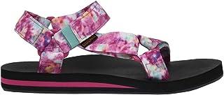 CUSHIONAIRE Women's Summer Yoga Mat Sandal with +Comfort Pink Multi, 7