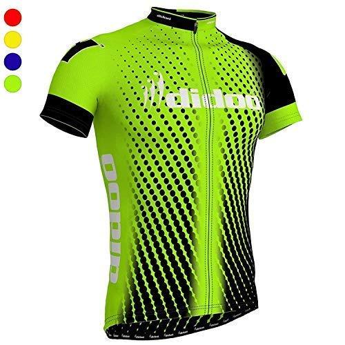 Didoo Maillot de Ciclismo para Hombre Manga Corta Camisetas Peso Ligero Transpirable...