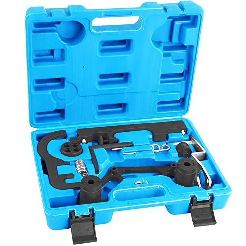 TECPO 300130 Motor Einstellwerkzeug Satz Steuerkette Arretierung Werkzeug Kompatibel mit BMW N47 N47S N57 N57S