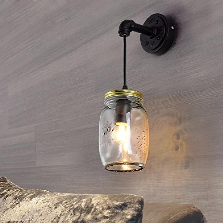 StiefelU LED Wandleuchte nach oben und unten Wandleuchten Glas Balkon über dem Bett, Schlafzimmer den cafe bar Wandleuchte