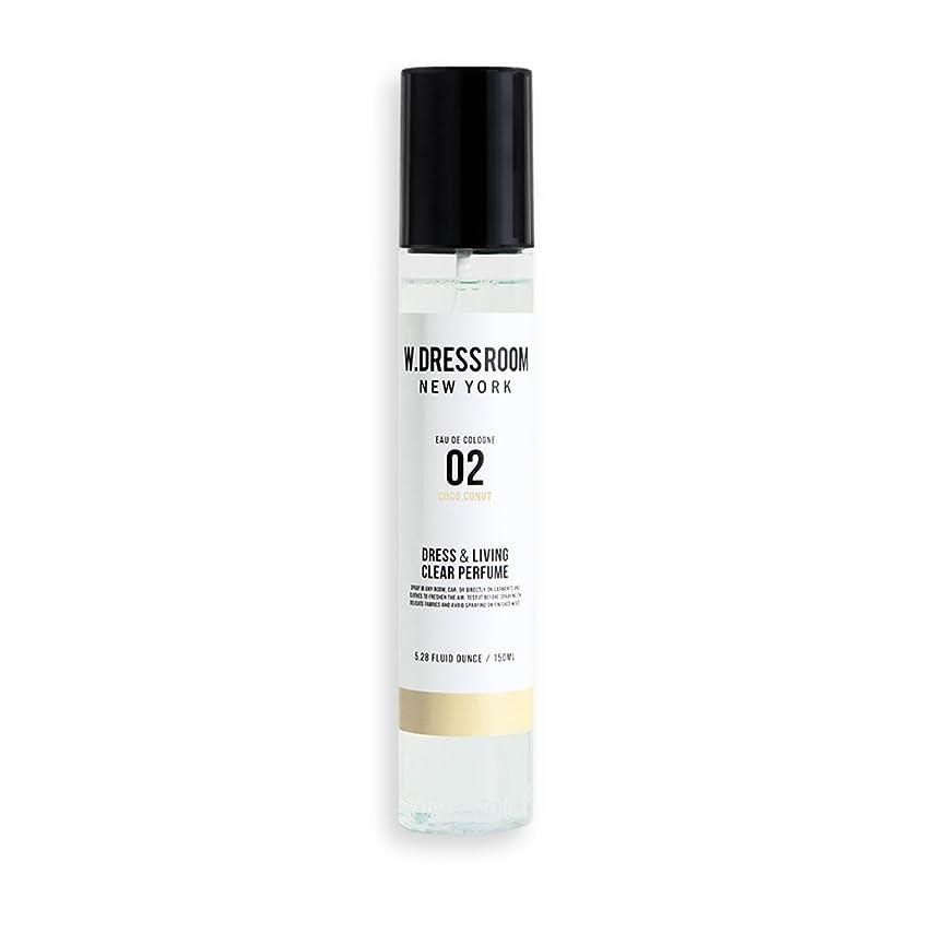 事実上カウント写真w Dressroom Perfumes Air Freshenersホームフレグランススプレー150?ml [ 02。coco-conut ]