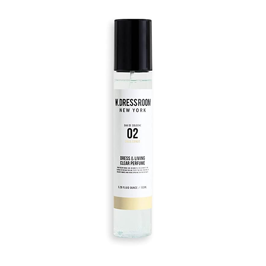劇作家スワップショルダーw Dressroom Perfumes Air Freshenersホームフレグランススプレー150?ml [ 02。coco-conut ]