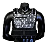 Strength sport systems Weight Vest (Short) - Premium Quality - Best for Cross fit Training - Running - Jogging - Fully Adjustable (S pro Weight Vest) (Pro II - S.T Camo, 40lbs(Iron ore Bags))