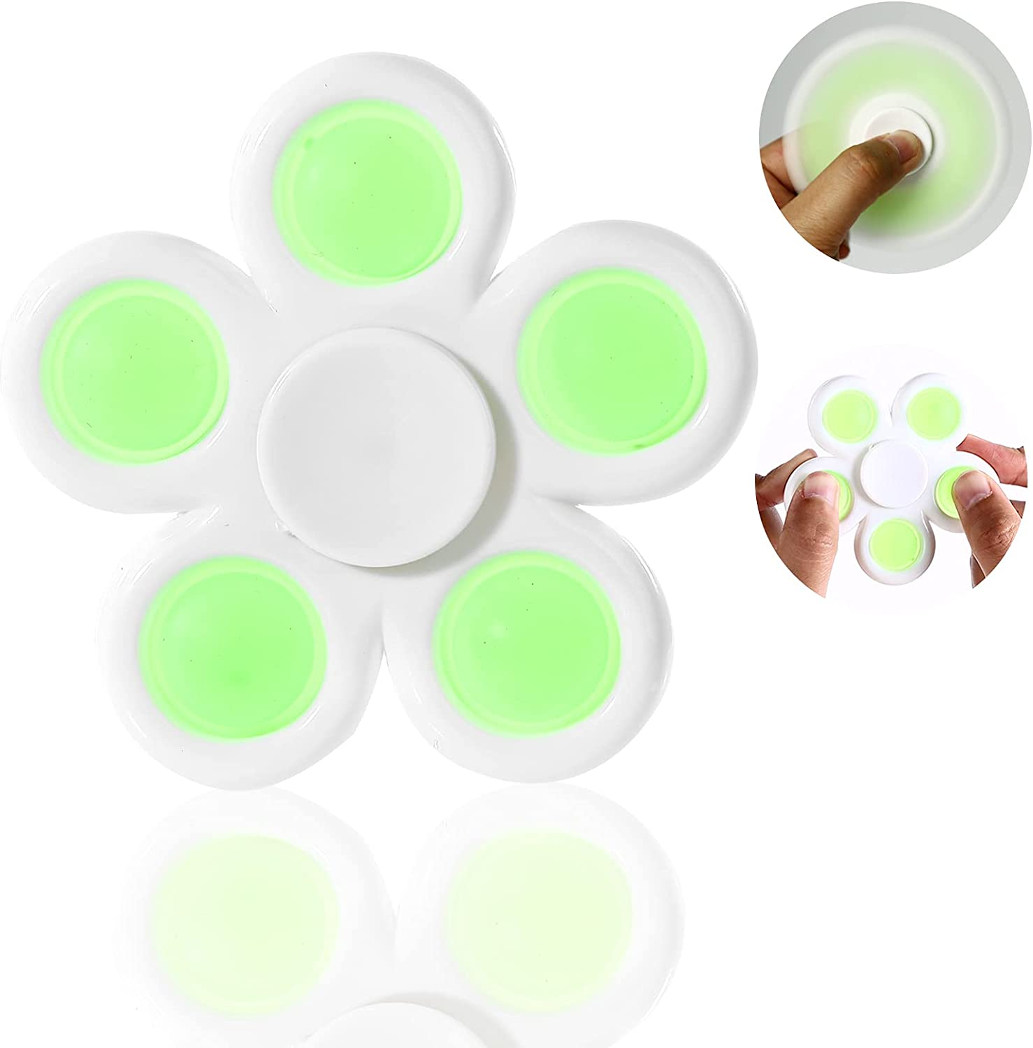 GOHEYI Push 70% OFF Outlet Bubbles Fidget Spinner Toy Pop in Simple 2 High material 1
