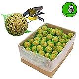 """9 kg Meisenknödel Marke """"Vogelfood"""" Vogelfutter Wildvogelfutter Ganzjahresfutter Fettfutter mit Netz"""