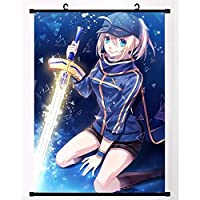 Fate Grand Orderマンガウォールスクロール壁画ポスターアニメーション周辺ファンギフト 50x75cm/19.7x29.5Inch