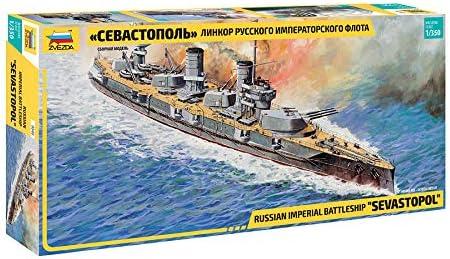 引き出物 Zvezda Models Russian 新作販売 Navy Sevastopol Battleship Kit Model