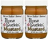 Bone Suckin' Sweet Spicy Mustard 12oz (Pack of 2)