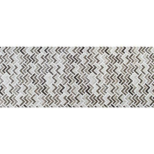IlGruppone Tappeto passatoia Fantasia Tamigi Antiscivolo Lavabile Varie Misure - Tamigi - 50x150cm