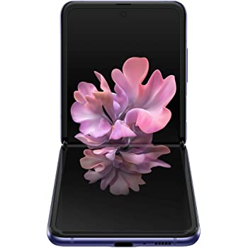 Samsung Galaxy Z Flip Factory Unlocked Cell Phone |US Version - Single SIM | 256GB of Storage | Folding Glass Technology | Long-Lasting Battery | Mirror Purple
