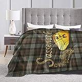 Tnigke Lesmus Sassenach, Outlander Fleece Blanket Throw Blanket for Couch Or Bed - Super Soft Microfiber Fuzzy Flannel Blanket 50'' x40