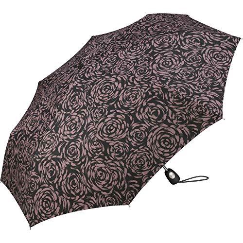 Pierre Gardin Easymatic - Paraguas de bolsillo, color rosa claro