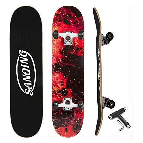 CUTEY Standard Tricks Skateboard Komplett 31