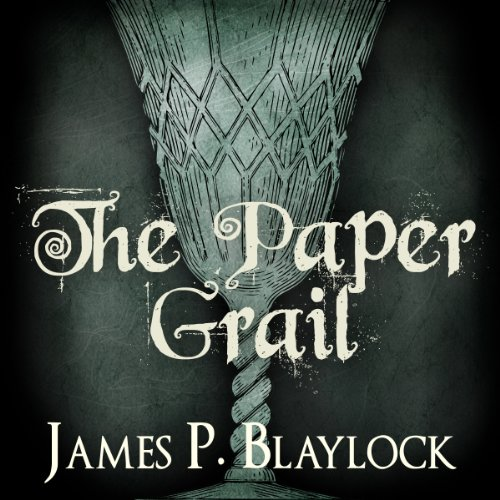 The Paper Grail audiobook cover art