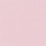 babrause® Baumwollstoff Mini Sterne Rosa Webware Meterware