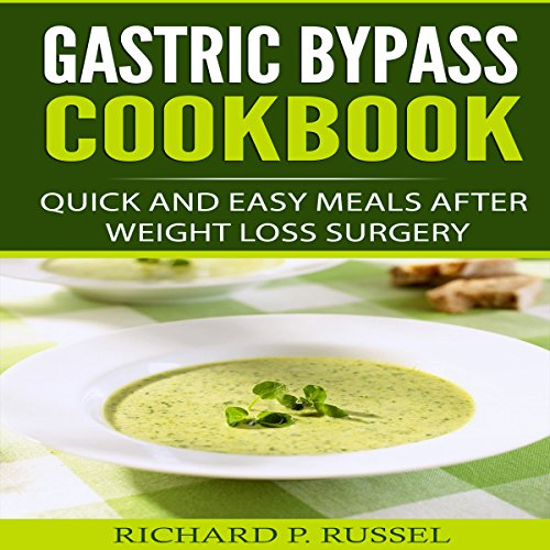 Gastric Bypass Cookbook audiobook cover art