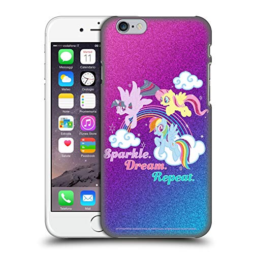 Head Case Designs Officially Licensed My Little Pony Sparkle Rainbow Vibes Hard Back Case Compatible with Apple iPhone 6 / iPhone 6s
