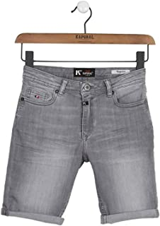 Kaporal - Short en Jean, Coupe Regular - Eole - Garçon