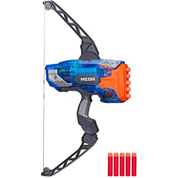 Amazon Com Nerf Mega Thunderbow Blaster Toys Games