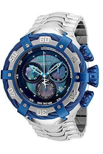 Relógio Invicta Bolt 21357 Thunderbolt Prata/Azul