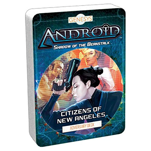 Genesys RPG: Adversary Deck - Citizens of New Angeles