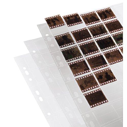 Hama Negativarchivierungshüllen (Polypropylen) für 40 Einzelnegative im Format 24x36mm