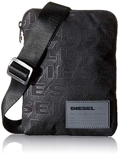 Diesel Herren Rucksack F-DISCOVER CROSS, Schwarz (Black), 2x19.5x15 centimeters (W x H x L)