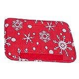 BESPORTBLE 3 Stück Weihnachten Kühlschrank Türgriff Abdeckungen Schneeflocke...