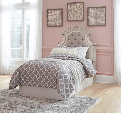 Signature-Design-by-Ashley-Realyn-Twin-Upholstered-Panel-Headboard