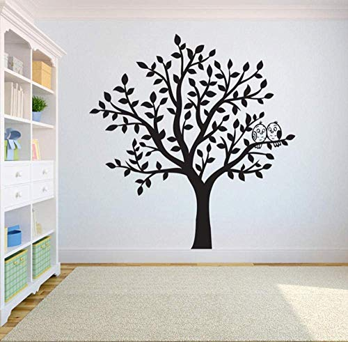 Birds Flying Away Home Decor Yoga Studiodecor Tree Wall Decal Sticker Dormitorio Tree Of Life Roots 57 * 59Cm