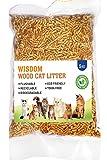 WISDOM Wood CAT Litter - Pine Wood Flavour (5 Kg / 10.4 L)