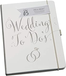 Busy B Bride to B A5 Wedding To Do Planner Book - White