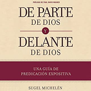 De parte de Dios y delante de Dios [On Behalf of God and Before God] audiobook cover art