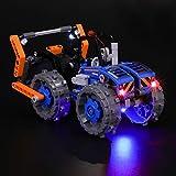 BRIKSMAX Kit de Iluminación Led para Lego Technic Buldócer Compactador-Compatible con Ladrillos de Construcción Lego Modelo 42071, Juego de Legos no Incluido
