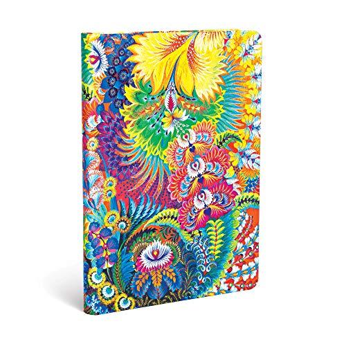 Paperblanks PB4623-3 Olenas Garten Tagesanbruch - Notizbuch Midi Unliniert (Olena's Garden)